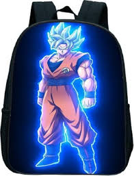 <b>Dragon Ball Z</b> Goku Printed Backpack Children School Bags Baby ...