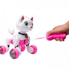 <b>Радиоуправляемая интерактивная кошка</b> Cindy (с управлением ...