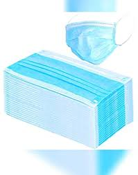 TRUE SHOP Face <b>Masks Safety Mask Dust Disposable</b> 2Ply ...