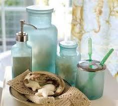 masks bathroom accessories set personalized potty: hawaiian masks bathroom accessories set personalized potty   blue beach glass bath accessories tropical bathroom accessories