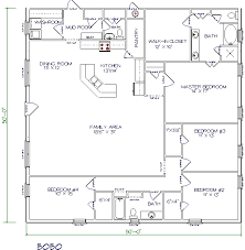 Top Metal Barndominium Floor Plans for Your Dream Home   HQ     bed  bath       x