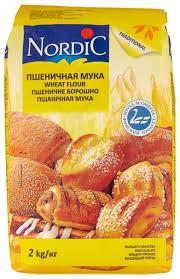 Купить <b>Мука Nordic пшеничная</b> высший сорт <b>2</b> кг по низкой цене с ...