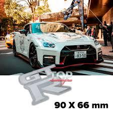 Шильдик <b>эмблема GT</b>-R 90 x 60 mm