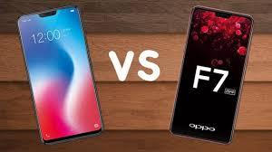 So sánh Vivo V9 với OPPO F7 về camera và hiệu năng