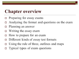 the call to write third edition chapter  essay exams   ppt  chapter overview  preparing for essay exams  analyzing the format and questions on the exam