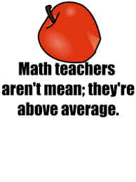 Image result for average mean math joke
