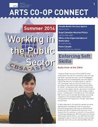 newsletters co operative education simon fraser university summer 2014 arts co op connect