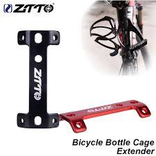 <b>ZTTO</b> MTB Double Head <b>Bicycle</b> Bottle Cage Extender <b>Aluminum</b> ...