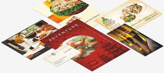 design brochures menus and posters for your bar or catering print template store