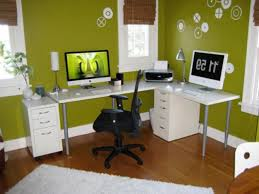 decorations home office work ideas interior designs captivating with wall green color feng shui office captivating modern home office design ideas