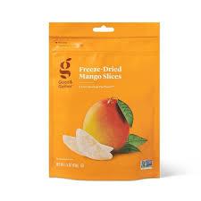 <b>Freeze Dried Mango</b> Slices - <b>1.5</b>oz - Good & Gather™ : Target