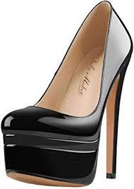 Onlymaker Women's Round Toe Super High Heel ... - Amazon.com