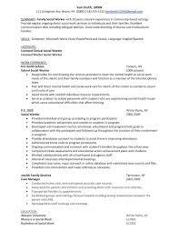 Social Worker Resume Template  potential relevant job titles