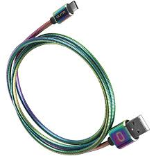 Купить <b>Кабель USB</b> Type-C <b>Qumo</b> Rainbow <b>USB</b> 2.0-Type C 1.2м в ...