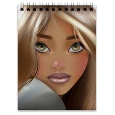 "Блокнот ""Baby Face"" #2393212 от Катя <b>Тайгер</b> - <b>Printio</b>"