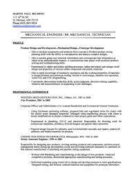 mechanical engineer resume sample resume cover letter example mechanical engineer resume sample