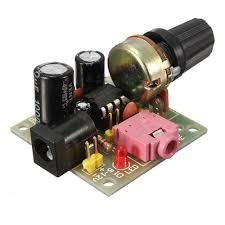 Ardokit <b>LM386 Mini DC 3V</b> To 12V Amplifier Board Signal Amplifier ...