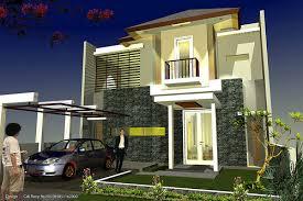Gambar Model Rumah 2 lantai