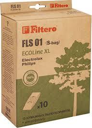 <b>Набор пылесборников Filtero FLS</b> 01 (S-bag) ECOLine XL,10 шт ...
