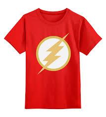 <b>Детская футболка классическая</b> унисекс <b>Printio</b> Flash (Молния ...