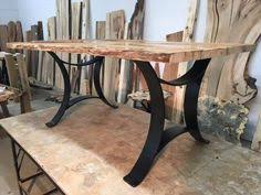 metal dining table base legs bennysbrackets:  inch tall steel dining table base set flat black golden gate metal table base