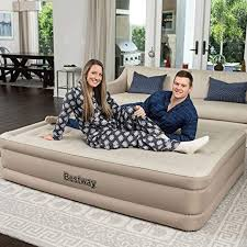 <b>Bestway Queen</b> Signature Plus <b>Elevated</b> Airbed: Amazon.co.uk ...