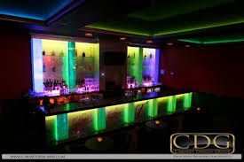 what are the most common types of architectural lighting in nightclub design bar lighting ideas