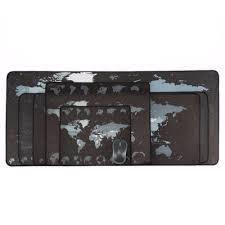 Large Gaming Mousepad <b>World Map Anti</b>-<b>slip</b> Edge Waterproof ...