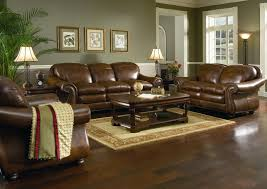 amazing living room with brown leather sofa living room ideas brown sofa with brown leather sofa brilliant painted living room furniture