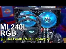 $80 Liquid Cooler with RGB Lighting? -- <b>Cooler Master MasterLiquid</b> ...