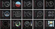 <b>Приборная панель Logitech</b> G Saitek Pro Flight Instrument Panel ...