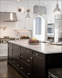 modern kitchen cabinet hardware traditional: kitchen lighting kitchen center island lighting above white marble granite countertops with polished chrome victorian style kitchen cabinet hardware