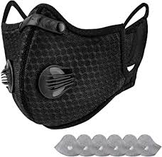 AstroAI <b>Reusable</b> Dust Face <b>Mask</b>, Masque with 7 Filters - Personal ...