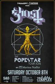 Tickets for <b>GHOST</b> - <b>POPESTAR</b> in Salt Lake City from ShowClix