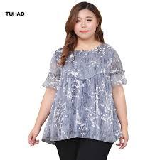 TUHAO <b>10XL 9XL</b> 7XL <b>Plus Size</b> Women Polka Dot Printed Blouses ...