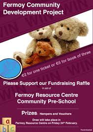 fermoy resource centre community pre school fundraising raffle advertisements