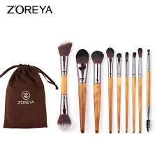<b>9Pcs Makeup</b> Brushes Powder Eyeshadow Eyebrow Lip Blending ...