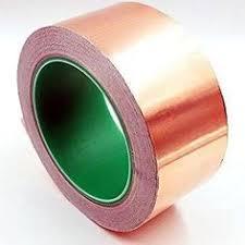 <b>Single</b>-<b>sided</b> Self Adhesive <b>Conductive</b> Copper Foil Tape Shielding ...