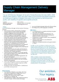 cv keskus t ouml ouml pakkumine supply chain management delivery manager toumloumlpakkumise number
