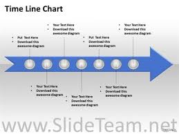 staged linear arrow timeline diagram powerpoint diagram