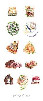 ideas about food drawing watercolor food all that food on behance wish i could make my drawings look that real practice practice practice