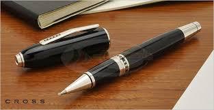 Купить Cross <b>Ручка</b>-роллер <b>Selectip Peerless</b> 125 Obsidian Black ...