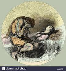 death song stock photos death song stock images alamy song of hiawatha by henry wadsworth longfellow the famine hiawatha mourning