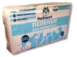 <b>Пеленки</b> pet expert <b>60x40cm</b> 30шт купить в интернет-магазине ...