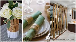 bamboo wall decor ideas craft  epic bamboo crafts for your home and decor