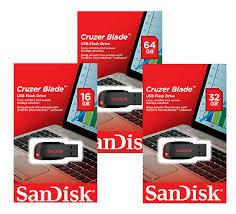 SanDisk 16GB 32GB <b>64GB</b> 8GB <b>USB</b> 2.0 Cruzer CZ50 <b>Flash Drive</b> ...