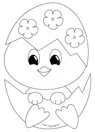 Small Picture Easter coloring page Baby chick Coloring Page Archives coloring page