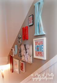 chic large wall decorations living room: alphabet letters for wall decor makipera