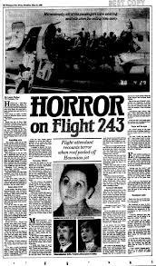 「1988、Aloha Airlines Flight 243」の画像検索結果
