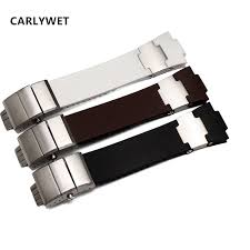 <b>CARLYWET</b> 25mm x 12mm(<b>20mm</b> buckle)Black Brown White ...